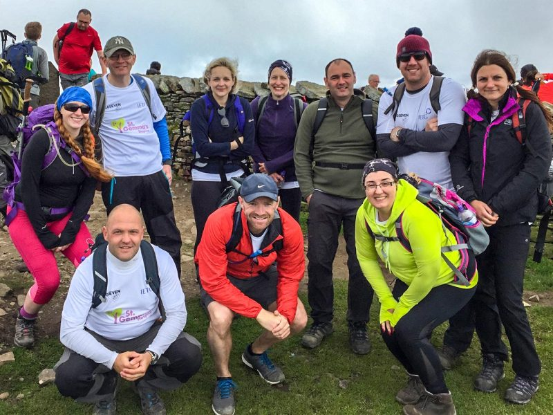 Yorkshire Three Peak charity walk