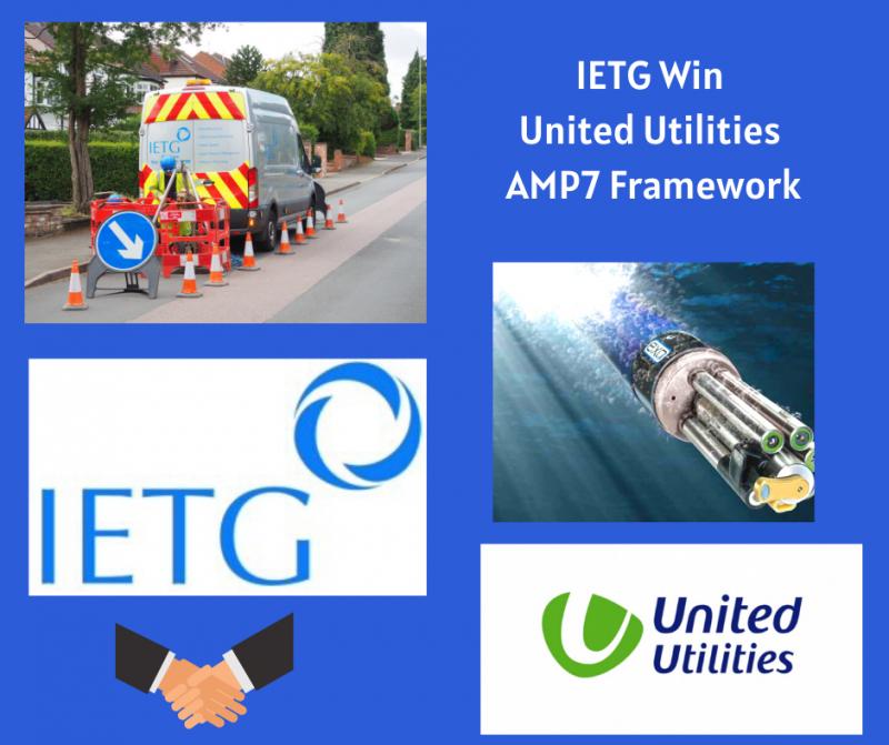 IETG Awarded United Utilities AMP7 Framework